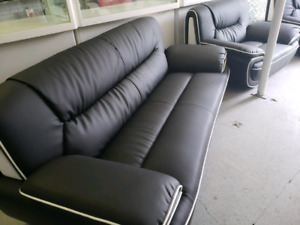 Brand new leather sofas for sales