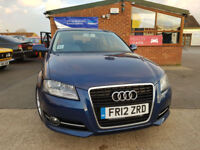 2012 Audi A3 1.6TDI ( 105ps ) Sportback 2012MY Sport NEW SERVICE PX WELCOME