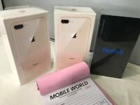 Iphone 8 Plus 256gb brandnew sealed pack 12 month Apple warranty