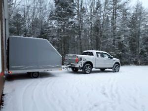 Trail Rider Snowmobile Trailer