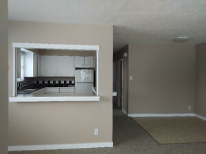 bright 2 bedroom suite close to Spruceland Mall and bus route