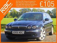 2006 Jaguar X-TYPE 2.5 V6 SE Auto AWD 4x4 4WD Estate Sat Nav Full Leather Heated