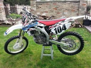 2006 Honda crf450r priced to sell!