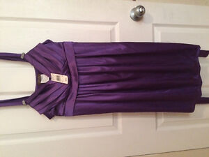 Lady's Size 10 Purple Dress