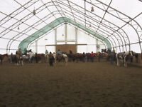 full service horse boarding in Prince George