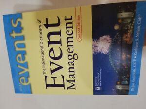 The International dictionary of Event Management- Second Edition