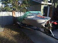 Solid 16' boat for sale
