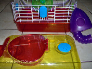 HAMSTER CAGE 16 inch  by 12inch.  $35