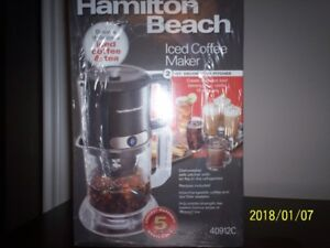 Hamilton Beach Iced Coffee Maker 40912 2qt