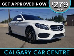 2015 C-Class $279B/W TEXT US FOR EASY FINANCING! 587-582-2859
