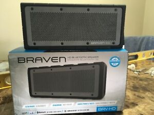 2 Braven Bluetooth Speakers.