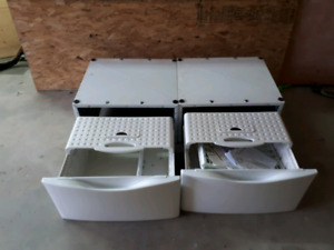 Washer and dryer stands
