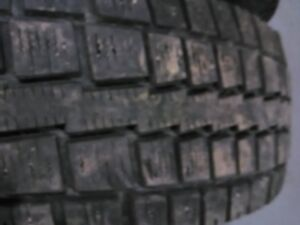 Two 245/65/R17 SNOW TIRES