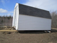 Wanted- help moving a baby barn 20 feet
