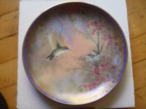 Bradford exchange plate,  Garden Whisper
