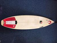 """Surfboard 6'4"""". Greg Frost- Cutloose model"""