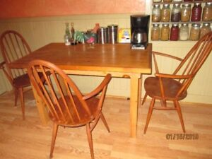 Kitchen Table plus 3Chairs