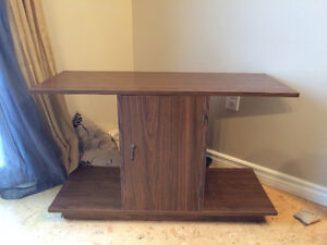 Moving Sale: Brown TV Stand
