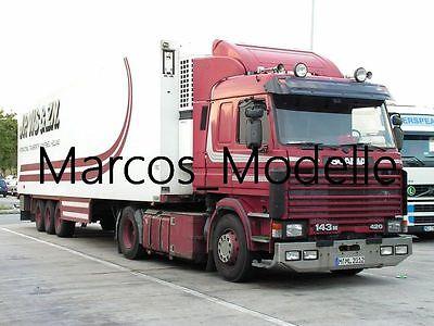 Truck Photo - Lkw Foto Scania 143 Ex-JP Vis. & Zn. aus München  /1272
