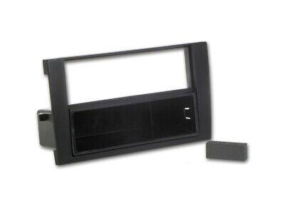 For Audi A4 B6 8E 8H Car Radio Panel Mounting Frame Cer Cover 1-DIN Black