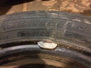 Winter tires on rims Cornwall Ontario image 3