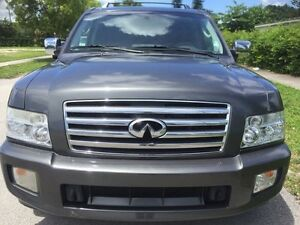 INFINITI QX56 7 PASSENGERS FULLY LOADED