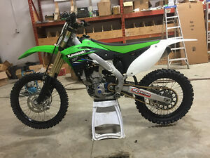 """EXCELLENT CONDITION""  2014 Kawasaki 250F $5500 OBO"