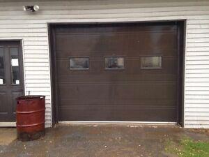 Porte de garage 8pi X 10pi