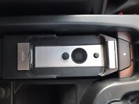 BMW Genuine In Car Mobile Phone Media Snap-In-Adapter Cradle/Holder/Charger for iPhone 4/4S