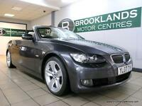 BMW 3 SERIES 330d SE CONVERTIBLE AUTO [5X SERVICES, SAT NAV, LEATHER and HEATED