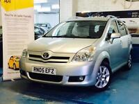 Toyota Corolla Verso 1.8 T Spirit Multimode 5dr 7 Seater TOYOTA DVD SCREENS