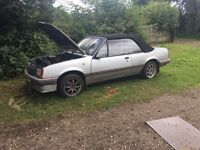 Vauxhall cavalier convertible very low miles £400