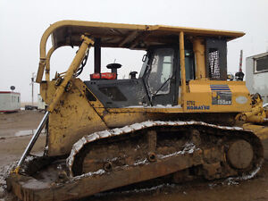 Excavator and Crawler tractor dozer for sale