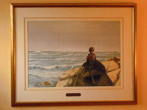 Peter Robson, Sparta, Elgin Co., ORIGINAL, Lure of The Sea London Ontario image 2