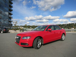 2012 Audi A4 Premium Sedan - Manual - REDUCED