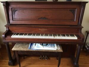 Over 100 Year Old Henry Herbert Stand Up Piano