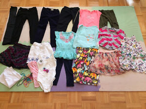 Girl Autumn/Summer clothes (4-5 years)