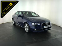 2015 AUDI A4 S LINE TDI AUTOMATIC 4 DOOR SALOON 148 BHP 1 OWNER FINANCE PX
