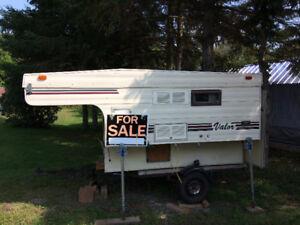 1989 Valor pop up truck camper