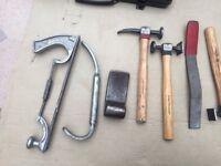 Professional panel beating tools