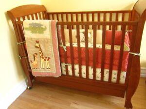 Ensemble de literie pour lit/bassinette de bébé