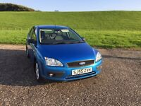 FORD FOCUS 1.6 ONE OWNER FROM NEW LOW MILEAGE FULL YEARS MOT