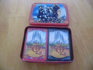 VINTAGE WIZARD OF OZ CARDS WITH TIN Windsor Region Ontario image 1