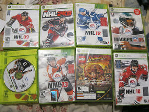 Multiple XBox 360 Games for Sale