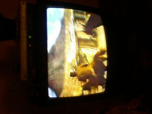 Sanyo 27 inch colored tv with no remote