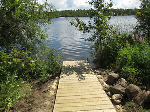 Serviced Lakefront Lots at Lucien Lake- Welcome to the Lake!