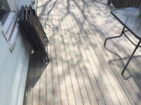 Deck washing,cleaning, repair and repainting/staining