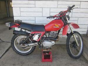 1981 Honda XL500 Dual Sport for sale