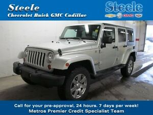 2012 Jeep WRANGLER Unlimited Sahara Package