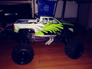 Savage x with a axial .32 motor